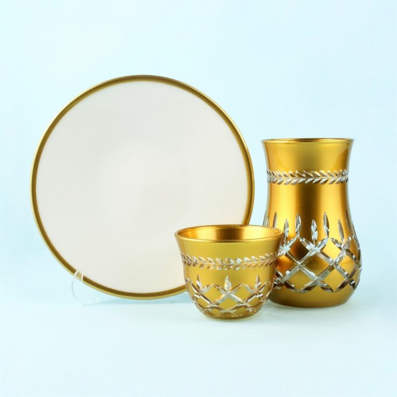 TOYGAR - 'TG Lisbon 18pc Tea + Arabic Coffee Set