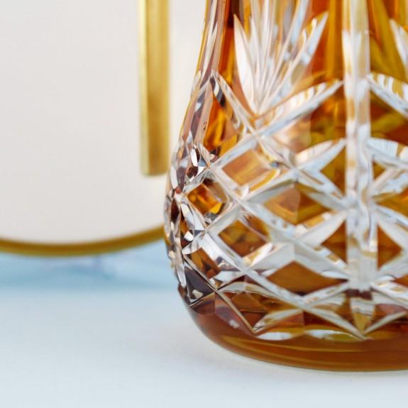 'TG Pineapple Amber Handle 18pc Tea + Arabic Coffee Set - Thumbnail